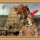 Mastin Espanol Fine Art Canvas Print - The Tower of Babel