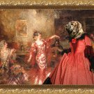 Mastin Espanol Fine Art Canvas Print - The Spanish Dancer