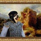 Mastin Espanol Fine Art Canvas Print - The rural castle