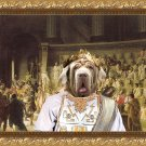 Mastino Napoletano Fine Art Canvas Print - The Last Senate of Julius Caesar