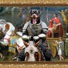 Rottweiler Fine Art Canvas Print - Vene.Vidi, Vici