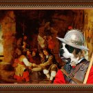 Saint Bernard Fine Art Canvas Print - For the queen and the fatherland