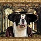 Saint Bernard Fine Art Canvas Print - Lady in Palace