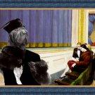 Shar Pei Fine Art Canvas Print - Intermezzo in the theater