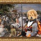 Tibetan Mastiff Fine Art Canvas Print - The battle and brave riccer