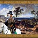 Braque Saint Germain Fine Art Canvas Print - The hunters return home