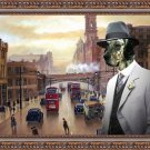 English Setter Fine Art Canvas Print - Piccadilly Manchester