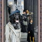 Epagneul Bleu de Picardie Fine Art Canvas Print - Tourist visitors
