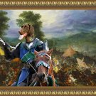 German Short Haired Pointer Fine Art Canvas Print - Final winner at battlefield