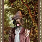German Wire Haired Pointer Fine Art Canvas Print - The Paradise