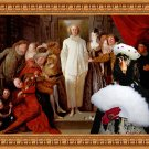 Gordon Setter Fine Art Canvas Print - The Italian comedians
