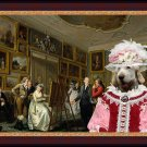 Spinone Italiano Fine Art Canvas Print - The class of drawing