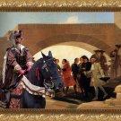 Weimaraner Fine Art Canvas Print - La Noce