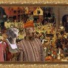 Weimaraner Fine Art Canvas Print - The Combat of Carnival