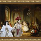 American Cocker Spaniel Fine Art Canvas Print - Actors Before a Performance