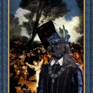 American Cocker Spaniel Fine Art Canvas Print - Masked Carnival
