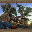 American Cocker Spaniel Fine Art Canvas Print - The old Oak