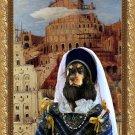 English Cocker Spaniel Fine Art Canvas Print - The Tower of Babel