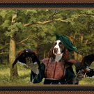 English Springer Spaniel Fine Art Canvas Print - The Forest Clearing