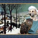 Golden Retriever Fine Art Canvas Print - Hunters in Snow