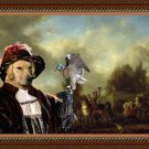 Golden Retriever Fine Art Canvas Print - Huntsmen Setting Out