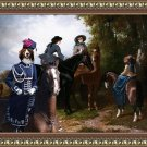 Kooikerhondje Fine Art Canvas Print - Ladies
