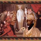 Labrador Retriever Fine Art Canvas Print - The Italian comedians