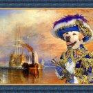 Labrador Retriever Fine Art Canvas Print - The fighting Temeraire