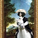 Portuguese Water Dog Fine Art Canvas Print - Danube Valley