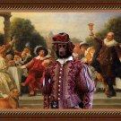 Stabyhoun Fine Art Canvas Print - The Banquet