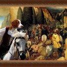 Welsh Springer Spaniel Fine Art Canvas Print - The Conversion of Paul Saint