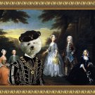 Bichon Frise Fine Art Canvas Print - The Jonson Family