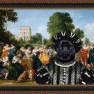 Brussels Griffon Fine Art Canvas Print - The Banquet