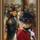 Brussels Griffon Fine Art Canvas Print - Admiral Lord Nelson