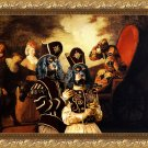 Cavalier King Charles Spaniel Fine Art Canvas Print - Arlequin and Colombine