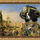 Cavalier King Charles Spaniel Fine Art Canvas Print - Pirate in Venice