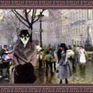 Chihuahua Smooth Haired Fine Art Canvas Print - The Flower Market Copenhagen