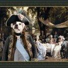 French Bulldog Fine Art Canvas Print - The Garden Party