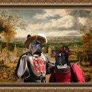 French Bulldog Fine Art Canvas Print - The Fair day