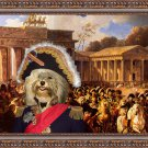 Havanese Fine Art Canvas Print - Napoleon entrance in Berlin