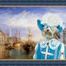 Lowchen Fine Art Canvas Print - The Grand Canal, Venice