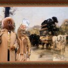 Poodle Fine Art Canvas Print - Waiting for the diligence