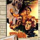 Mastiff Poster Canvas Print  -  La strada Movie Poster