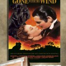 Miniature Schnauzer Poster Canvas Print  - Gone with the Wind Movie Poster