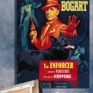 Schipperke Poster Canvas Print  -  The Enforcer Movie Poster