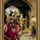 Standard Poodle Fine Art Canvas Print - The City Gate