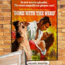 Irish Terrier Poster Canvas Print  -  Gone with the Wind  Movie Poster