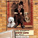West Highland White Terrier Poster Canvas Print - A Dogs Life