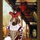 Dachshund Standard Smoothaired Fine Art Canvas Print - Capriccio of Colonade
