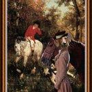 Dachshund Standard Smoothaired Fine Art Canvas Print - Where the Fox